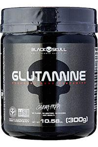 glutamina black skull